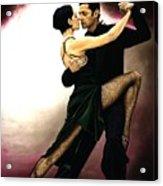 The Temptation Of Tango Acrylic Print