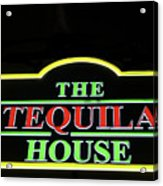 The Tequila House, New Orleans Acrylic Print