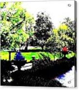 The Terrace Acrylic Print