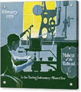 The Testing Laboratory Acrylic Print
