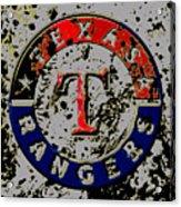The Texas Rangers 6b Acrylic Print