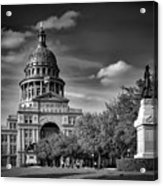 The Texas State Capitol Acrylic Print