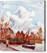 The Thames Acrylic Print