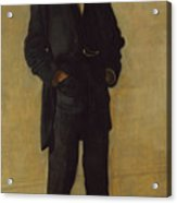 The Thinker, Portrait Of Louis Kenton Acrylic Print