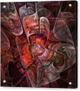 The Third Voice - Fractal Art Acrylic Print