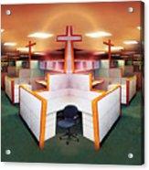 The Three Crosses Acrylic Print