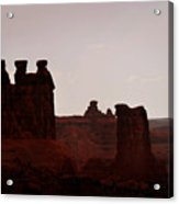 The Three Gossips Arches National Park Utah Acrylic Print