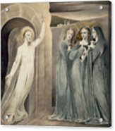 The Three Maries At The Sepulchre Acrylic Print