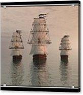 The Three Ships Acrylic Print
