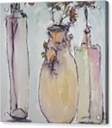 The Three Vases Acrylic Print