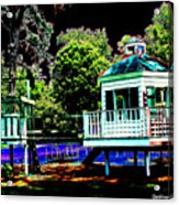 The Tides Inn Playground Acrylic Print