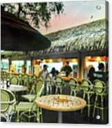 The Tiki Bar Acrylic Print