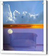 The Time Is Relative. Acrylic Print