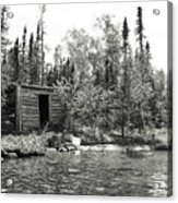 The Timeless Cabin Acrylic Print