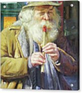 The Tin Whistle Acrylic Print