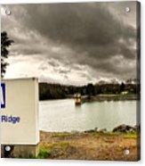 The Top Of Blue Ridge Dam Acrylic Print