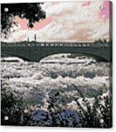 The Torrent Above Niagara Acrylic Print