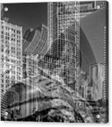 The Tourists - Chicago II Acrylic Print