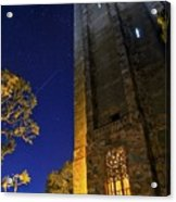 The Tower At Night Acrylic Print
