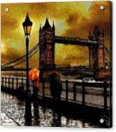 The Tower Bridge As I See Acrylic Print