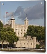 The Tower Of London. Acrylic Print