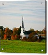 The Town Church Acrylic Print