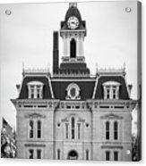 The Town Hall Acrylic Print