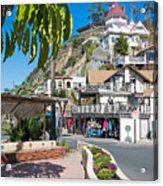 The Town Of Avalon Acrylic Print