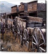 The Town Of Cody Wyoming Acrylic Print
