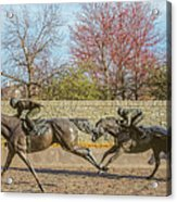 The Track - Thoroughbred Park - Lexington Kentucky Usa Acrylic Print