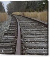 The Tracks Acrylic Print