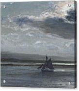 The Traeth Mawr, Moonlight Acrylic Print