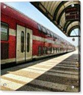 The Train Home Acrylic Print