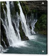 The Tranquility Of Waterfalls Acrylic Print