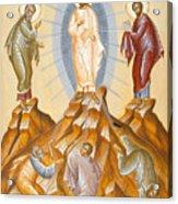 The Transfiguration Of Christ Acrylic Print by Julia Bridget Hayes
