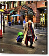 The Traveler Acrylic Print
