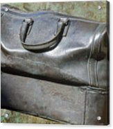 The Travellers Travel Bag Acrylic Print