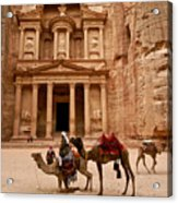 The Treasury Of Petra Acrylic Print