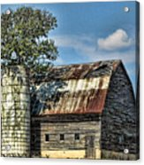 The Tree Silo Acrylic Print