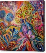 The Trees Of Eden Acrylic Print by Elena Kotliarker