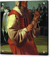 The Triangle Player Acrylic Print