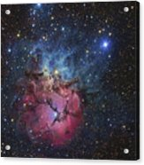 The Trifid Nebula Acrylic Print