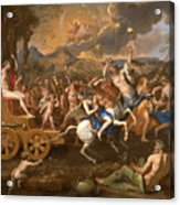 The Triumph Of Bacchus Acrylic Print