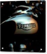 The Triumph Acrylic Print