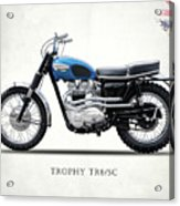 The Trophy Tr6 Sc Motorcycle Acrylic Print