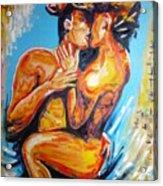 The True Lovers Acrylic Print
