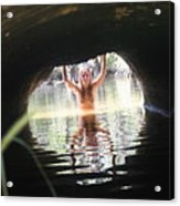 The Tunnel 7 Acrylic Print