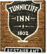 The Tunnicliff Inn - Cooperstown Acrylic Print