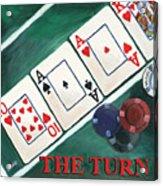 The Turn Acrylic Print by Debbie DeWitt