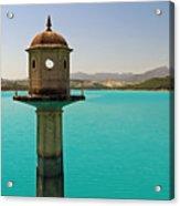 The Turquoise Lake Acrylic Print